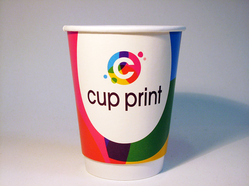 Cupprint: Top-Adresse, um Kaffeebecher to go in hoher Stückzahl drucken zu lassen