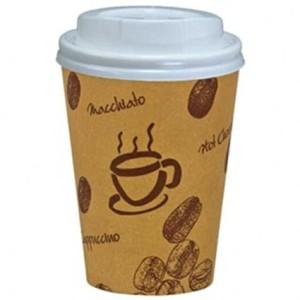 Kaffeebecher to go aus Pappe