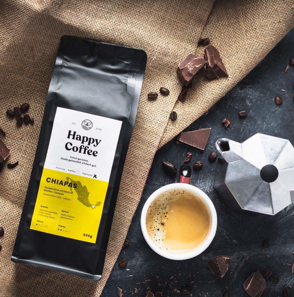 Happy Coffee Empfehlung