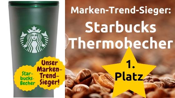 Starbucks Marken Trend Sieger