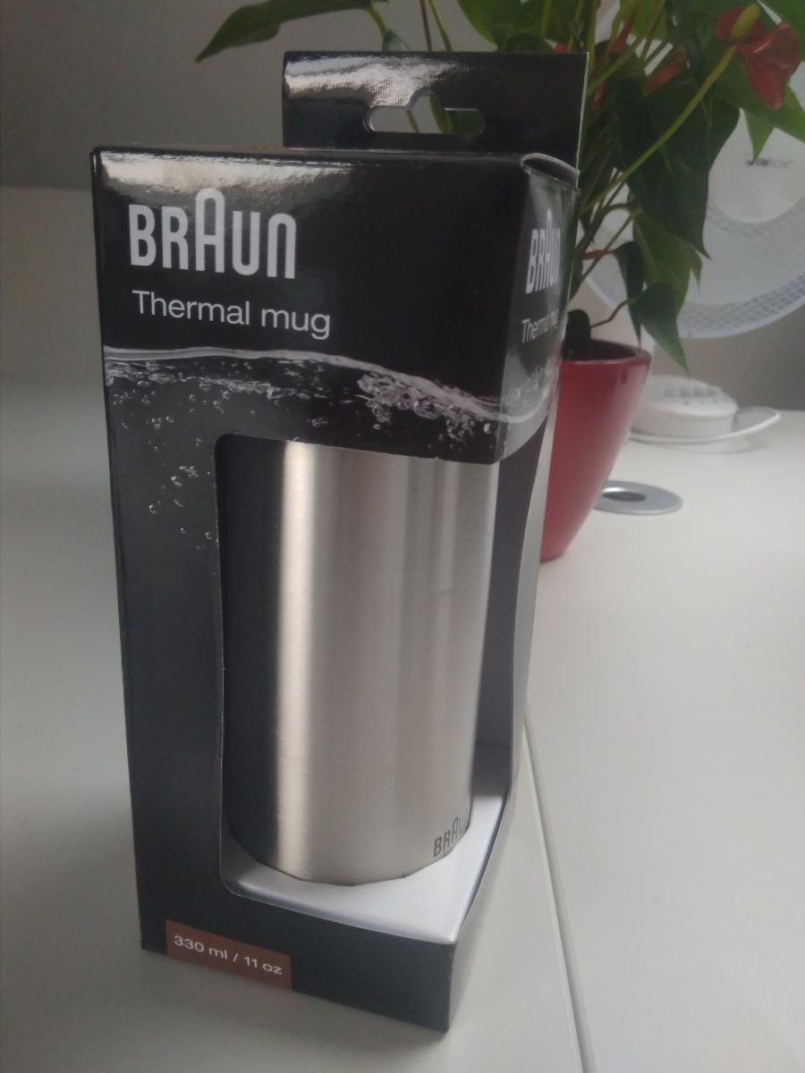Braun Thermobecher