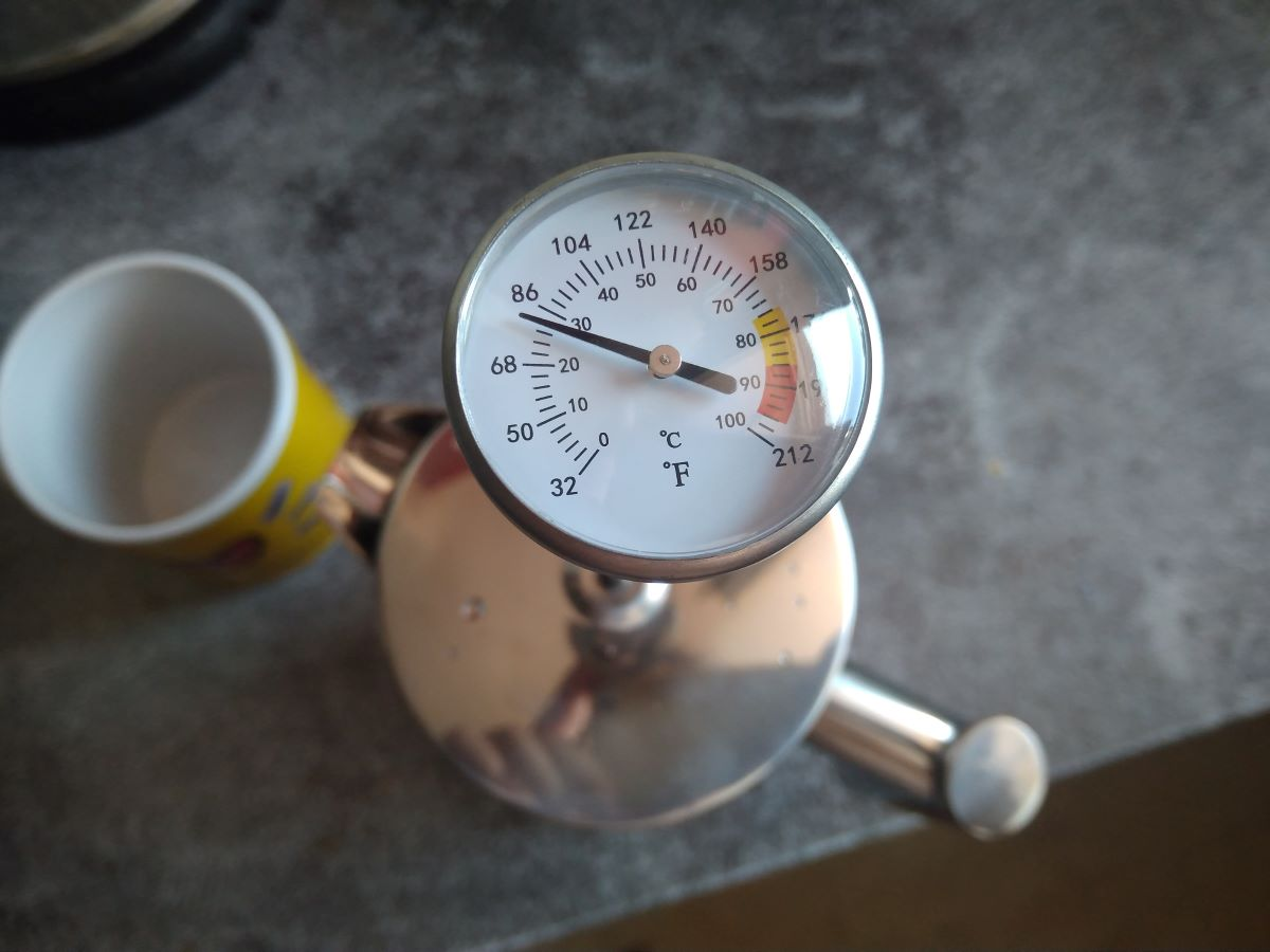 French Press Thermo mit Thermometer