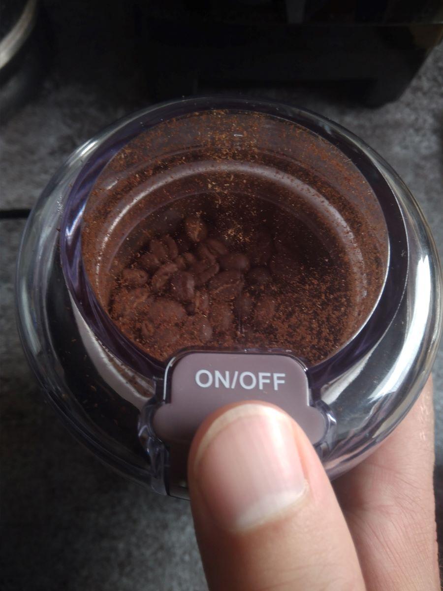 Kaffee mahlen per Knopfdruck