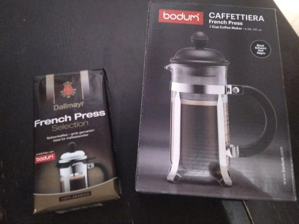 Unsere erste French Press von Bodum