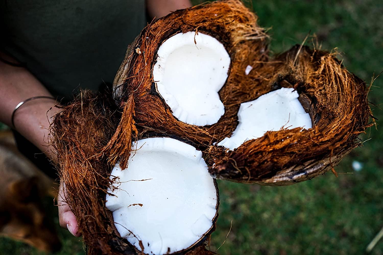 Kaffee und Kokosöl