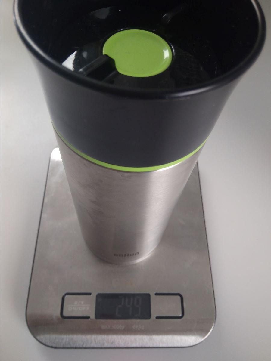 Leichtgewicht Braun Thermobecher