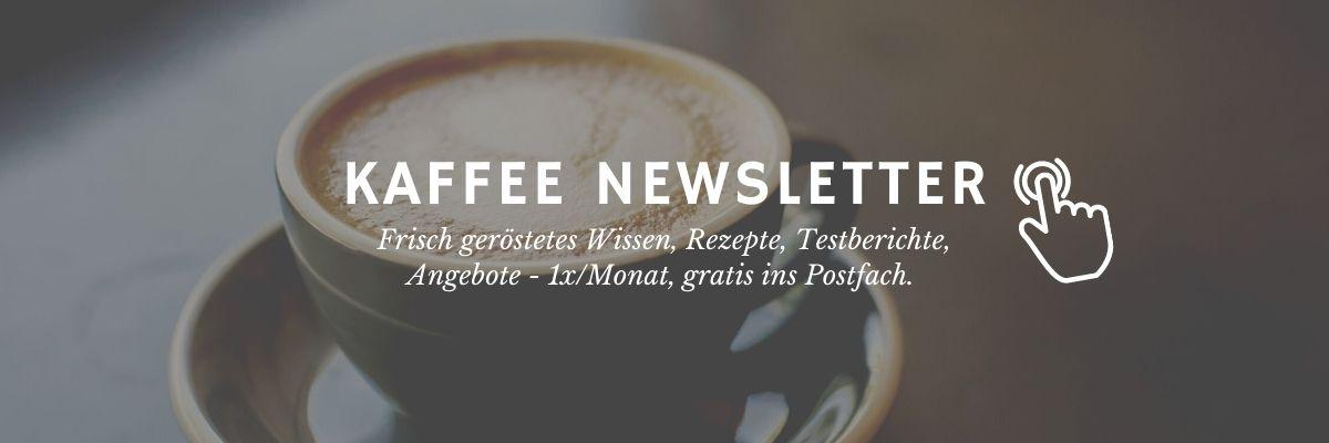 Kaffee Newsletter Banner
