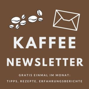 Kaffee Newsletter Minibanner