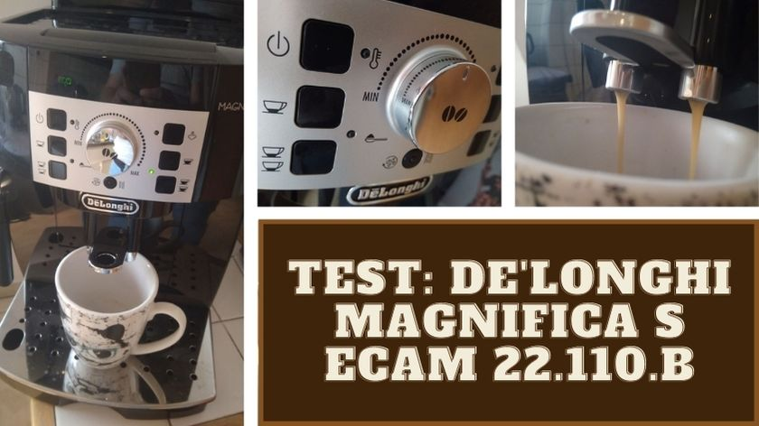 Der DeLonghi Magnifica S Vollautomat in unserem Test