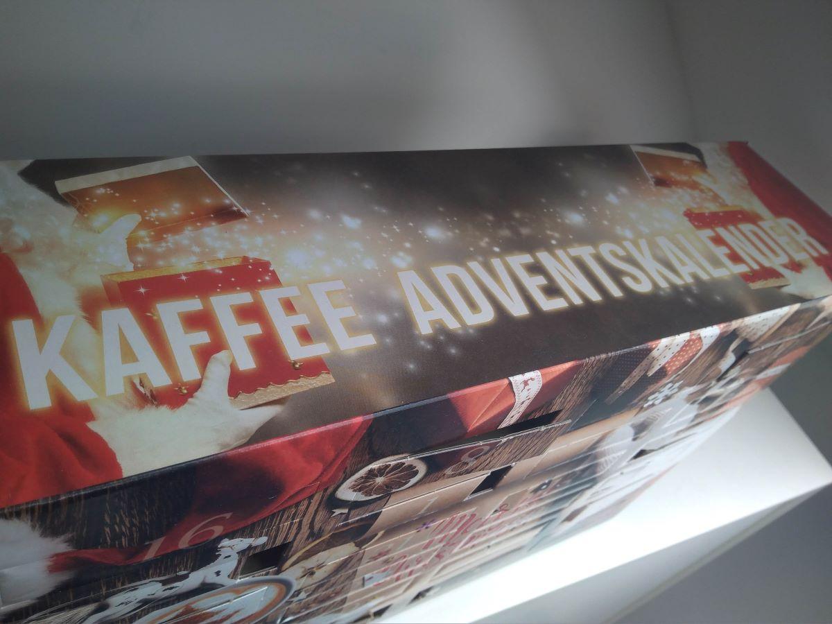 Ich habe diesen Kaffee Pad Adventskalender getestet